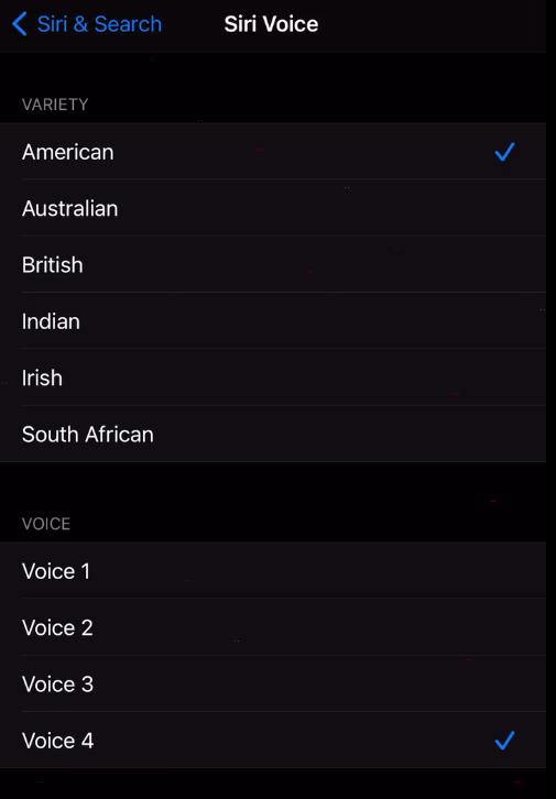 苹果ios14.5中siri声音设置教程