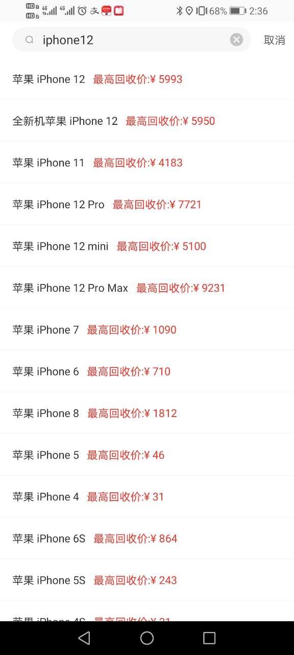 苹果iphone12 min128g最高回收价格是多少「专业回收」