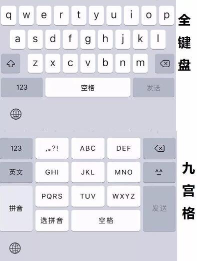 手机输入法是九宫格好用还是全键盘好用