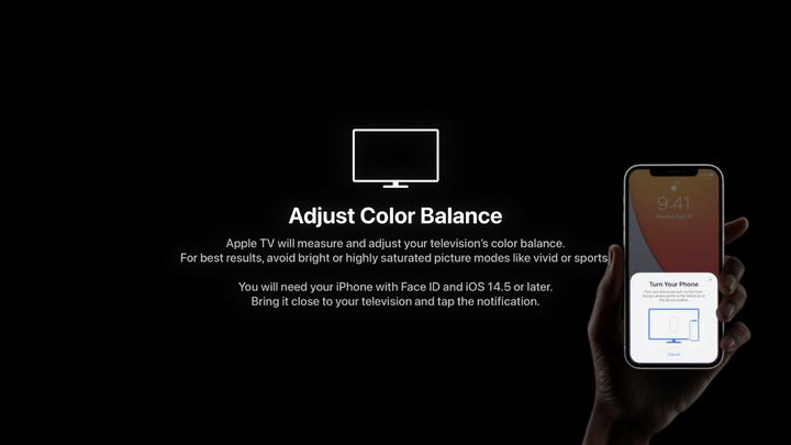 iPhone是怎么配合Apple TV完成校色「iphone技巧」